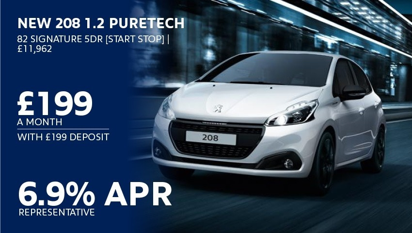 Peugeot 208 New Car Offer