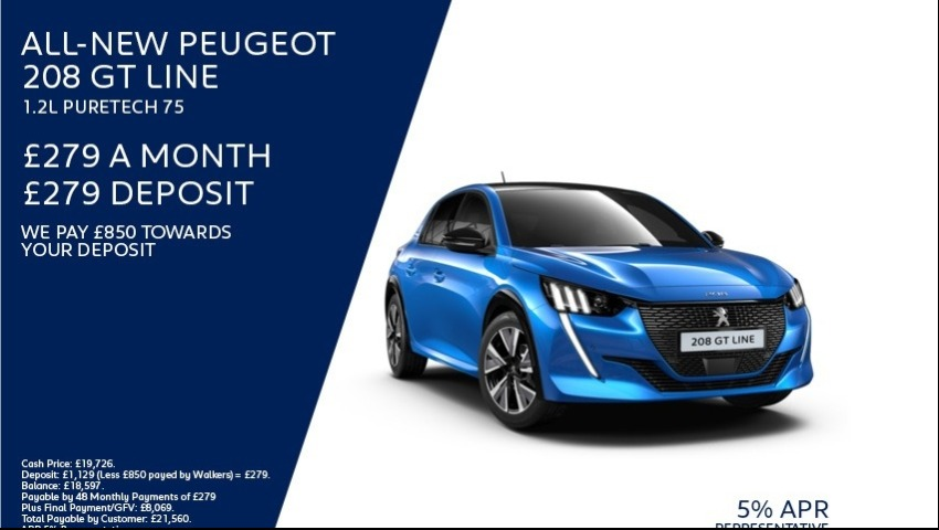 All-new Peugeot 208 New Car Offer