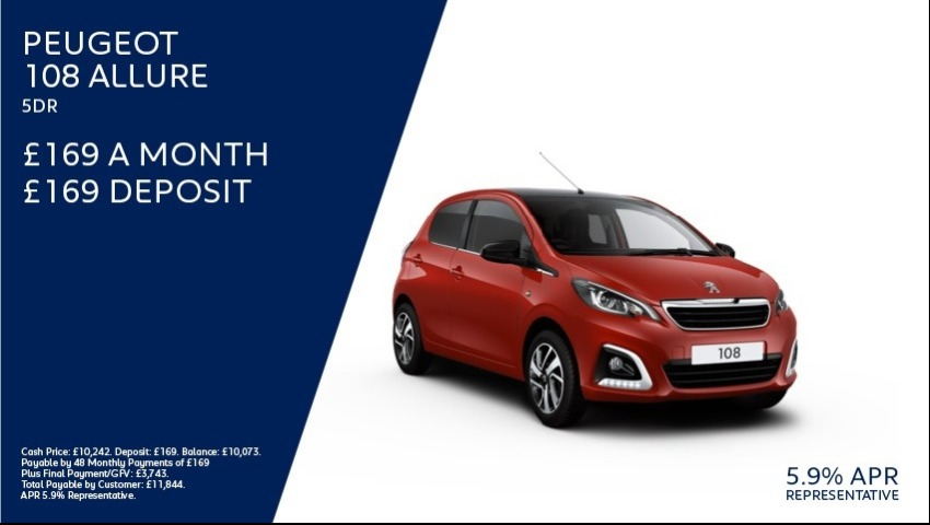 Peugeot 108 New Car Offer