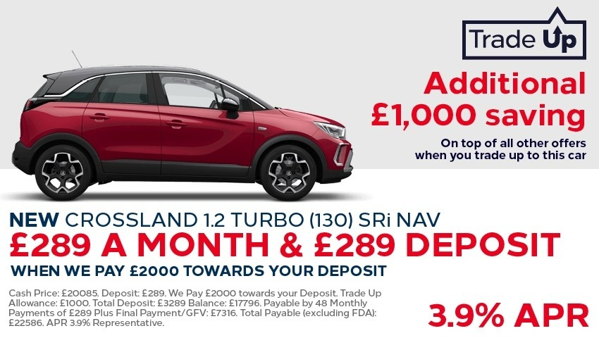 New Vauxhall Crossland New Car Offer